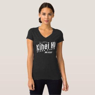 Kihei HIレディースV首 Tシャツ