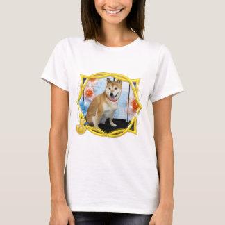 Kiki -柴犬 tシャツ