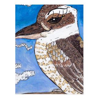 KiKi Kookaburra ポストカード