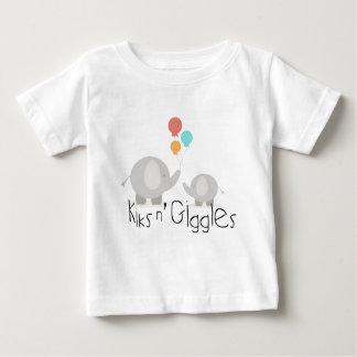 Kiksのnのくすくす笑いの幼児のティー ベビーTシャツ