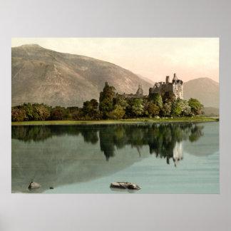 Kilchurnの城、Argyllおよびビュート、スコットランド ポスター