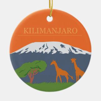 Kilimanjaro セラミックオーナメント