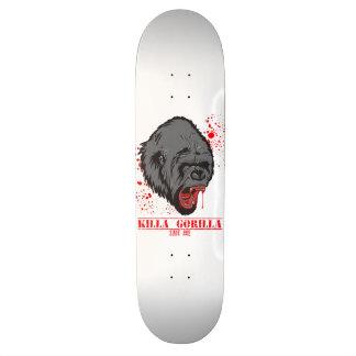 Killaのゴリラ 20.6cm スケートボードデッキ