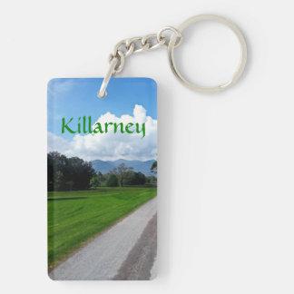 Killarney 長方形(両面)アクリル製キーホルダー