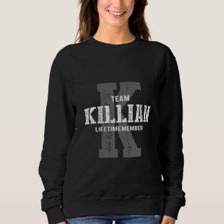 KILLIANのためのおもしろいなヴィンテージのスタイルのTシャツ スウェットシャツ