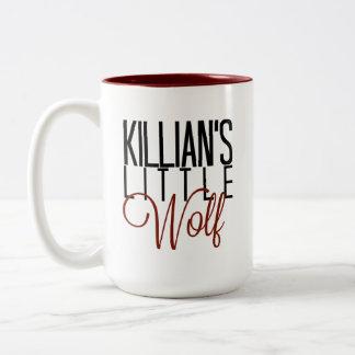 Killianの小さいオオカミのマグ ツートーンマグカップ