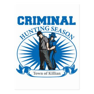 Killianルイジアナの刑事狩猟期の町 ポストカード