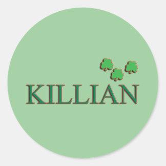 Killian家族 ラウンドシール
