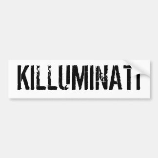 KILLUMINATI バンパーステッカー