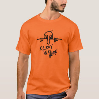 Kilroyはティーここにありました Tシャツ