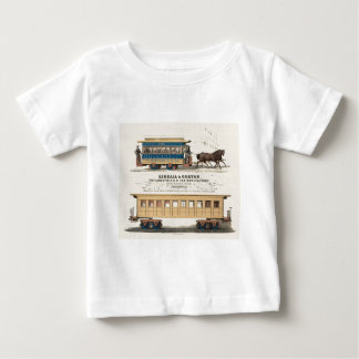 Kimball及びGortonフィラデルヒィアR.R. Car Manufactory ベビーTシャツ