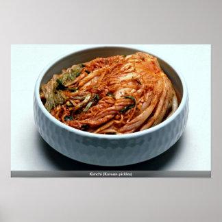 Kimchi (韓国のピクルス) ポスター