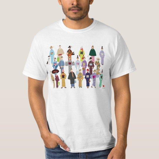 KIMONO Girls Tシャツ
