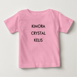 KIMORAの水晶KELIS ベビーTシャツ