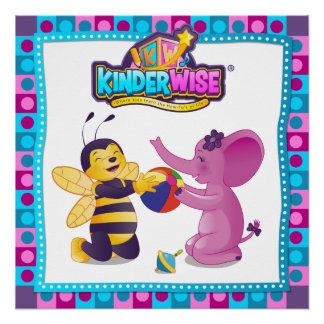 Kinderwiseの共有からのSparkelinaそしてBusybee、 ポスター