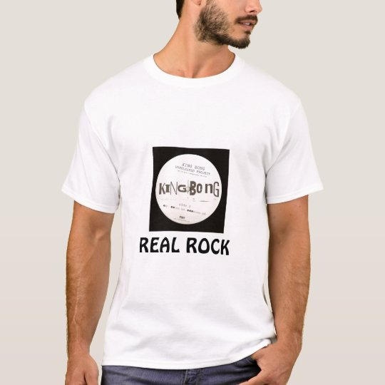 KINGBONG  REAL ROCK Tシャツ