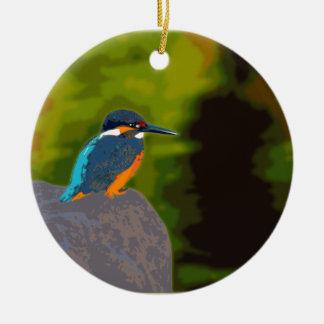 kingfisher セラミックオーナメント