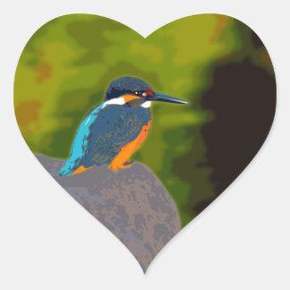 kingfisher ハートシール