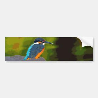 kingfisher バンパーステッカー