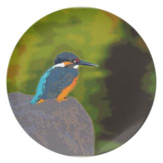 kingfisher プレート