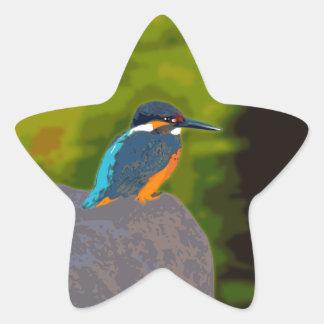 kingfisher 星形シールステッカー