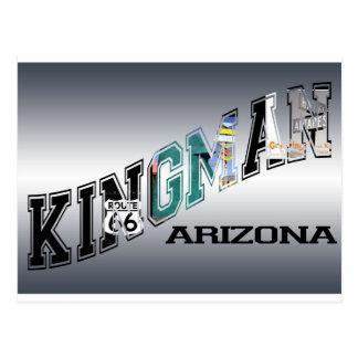kingmanのアリゾナのルート66 ポストカード