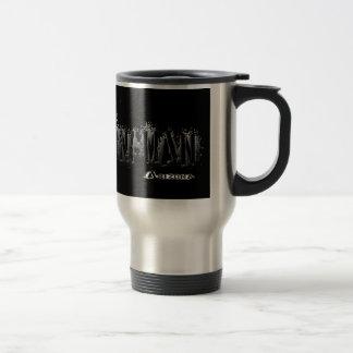 Kingmanアリゾナの灰色の液体 トラベルマグ