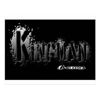 Kingmanアリゾナの灰色の液体 ポストカード