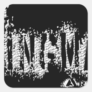 KingmanアリゾナAZの黒 スクエアシール