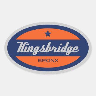 Kingsbridge 楕円形シール