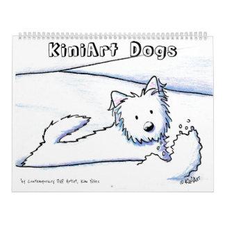 KiniArt犬 カレンダー