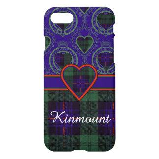 Kinmountの一族の格子縞のスコットランドのキルトのタータンチェック iPhone 8/7 ケース