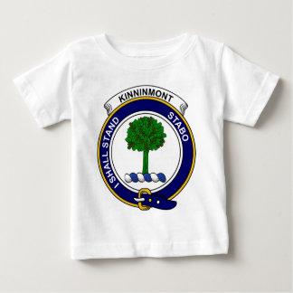 Kinninmontの一族は記章を付けます ベビーTシャツ