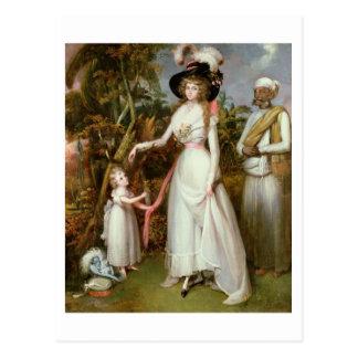 Kinross、彼女の娘およびJamadarの夫人グラハム、 ポストカード