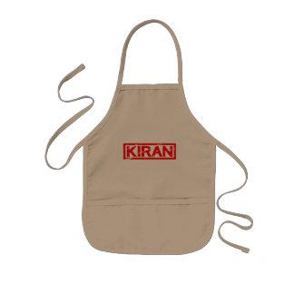 Kiranのスタンプ 子供用エプロン