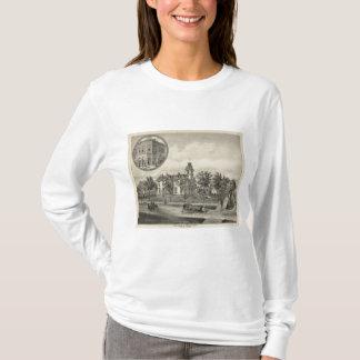 Kirbyの住宅および銀行、アビリン、カンザス Tシャツ