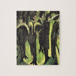 Kirchner: 通りの5人の女性、 ジグソーパズル