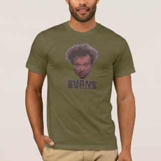 KirkエバンズのクラシックのTシャツ Tシャツ