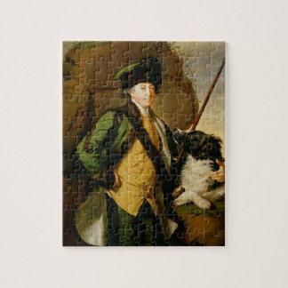 Kirklington (1731-81年)のジョンWhethamのポートレート ジグソーパズル