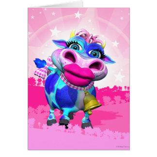 Kissy Moo牛メッセージカード カード