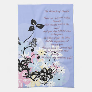 Kitchen Poems and Flowers Kitchen Towel キッチンタオル