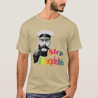 kitchenerとのベクトル停止同性愛恐怖症 tシャツ
