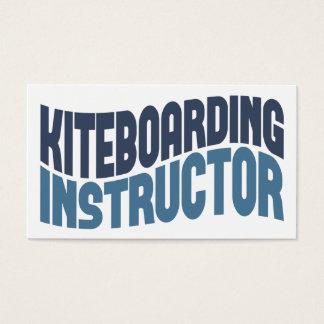 Kiteboardingのインストラクターの名刺 名刺