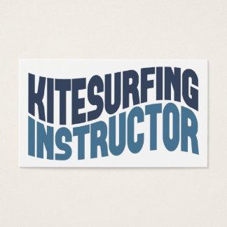 Kitesurfingのインストラクターの名刺 名刺