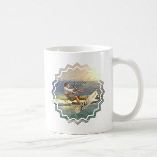 Kitesurfingのコーヒー・マグ コーヒーマグカップ