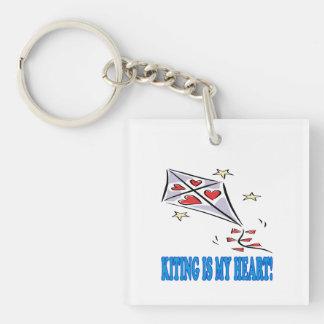Kitingは私のハートです キーホルダー