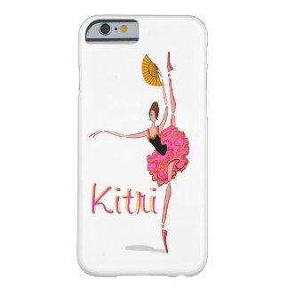 Kitriのバレリーナの踊りのバレエのドンQのiPhoneカバー Barely There iPhone 6 ケース