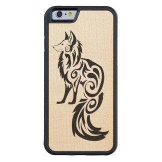 Kitsuneの種族のキツネ CarvedメープルiPhone 6バンパーケース