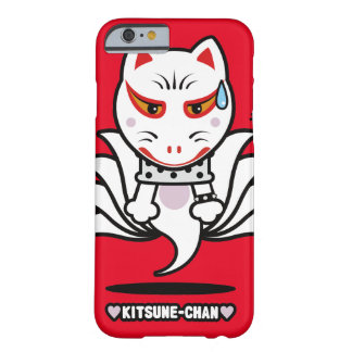 ♥Kitsune-Chan♥ (星の投射) Barely There iPhone 6 ケース
