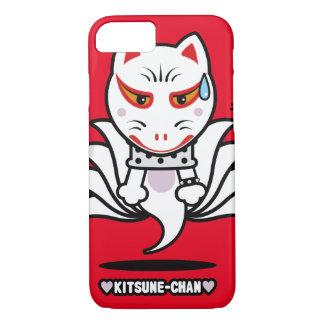 ♥Kitsune-Chan♥ (星の投射) iPhone 8/7ケース